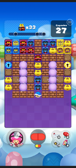 Stage 168 from Dr. Mario World