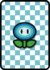A Ice Flower Card in Paper Mario: Color Splash.