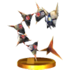 Lurchthorn trophy