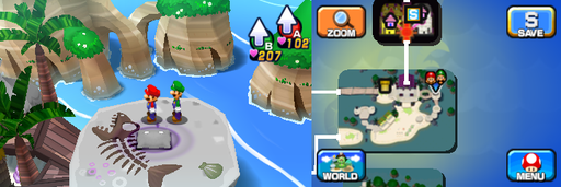 Location of the third and last Pi'illo in Driftwood Shore.