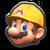 Builder Mario from Mario Kart Tour