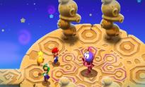 Luigi mimicking Chakron's pose.