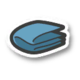 The Fresh Sheets icon from Paper Mario: Color Splash