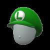 "The ""Luigi Cap"" Mii headwear"