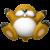 Monty Mole icon in Super Mario Maker 2 (New Super Mario Bros. U style)