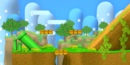 Melee's Yoshi's Island in Super Smash Bros. for Wii U