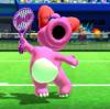 Birdo's taunt from Mario Sports Superstars