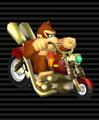 Donkey Kong's Wario Bike