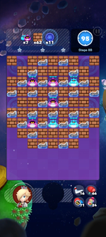 Stage 8B from Dr. Mario World