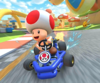 The icon of the Luigi Cup challenge from the Halloween Tour and the Dry Bones Cup challenge from the 1st Anniversary Tour in Mario Kart Tour