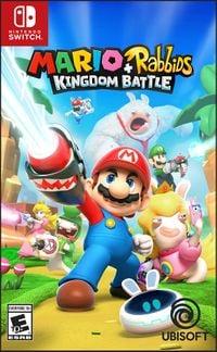 Mario + Rabbids Kingdom Battle NTSC/PAL boxart