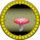 A figure of a Pink Mushroom.