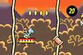 Super Mario Advance 3 - Yoshi's Island 6-3 logs.PNG