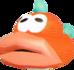 Artwork of a Cheep-Cheep from Super Mario Sunshine.