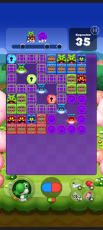 Stage 528 from Dr. Mario World