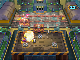 Wario in La Bomba from Mario Party 7