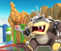 3DS Rock Rock Mountain from Mario Kart Tour.