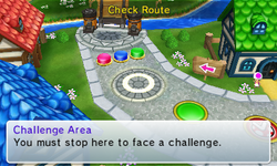 Challenge Area from Mario Party: Island Tour