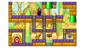 Miiverse screenshot of the 52nd official level in the online community of Mario vs. Donkey Kong: Tipping Stars