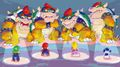 SM3DW Bowser facing heroes concept art.jpg