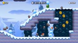 The Super Mario Maker 2 Course World level Rolling Snowballs.