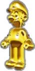 Luigi's Gold Suit icon in Mario Kart Live: Home Circuit
