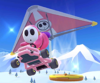 The icon of the Baby Daisy Cup challenge from the Mario Tour in Mario Kart Tour.