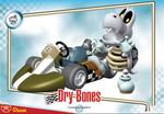 Mario Kart Wii trading card for Dry Bones.