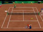 Clay Court in the game Mario Tennis (Nintendo 64).