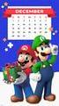My Nintendo Mario Luigi Happy Holidays calendar smartphone.jpg