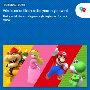 Icon for Nintendo Character Style Quiz