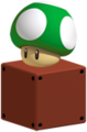 SM3DL 1 Up Mushroom Empty Block Artwork.png