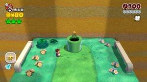 Luigi sighting found in Koopa Troopa Cave in Super Mario 3D World.