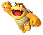 Boom Boom in Super Mario Run.