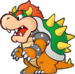 Bowser as he appears in Super Paper Mario.