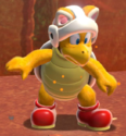 A Cat Fire Bro in Bowser's Fury.