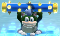 A Cat Spike in Bowser's Fury
