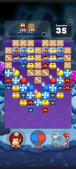 Stage 507 from Dr. Mario World