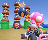 The icon of the Koopa Troopa Cup challenge from the Ninja Tour in Mario Kart Tour