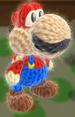 mario amiibo yoshi from yoshi's woolly world