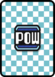 A POW Block Card in Paper Mario: Color Splash.
