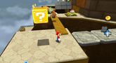 Throwback Galaxy screenshot from Super Mario Galaxy 2