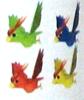 Artwork of the Parrots in Super Mario Sunshine.
