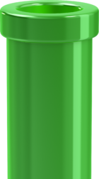 Artwork of a Warp Pipe, from Super Mario 3D World.