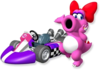 Artwork of Birdo from Mario Kart Wii