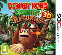 European boxart of Donkey Kong Country Returns 3D