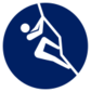 Event icon used for Sport Climbing in Mario & Sonic at the Olympic Games Tokyo 2020