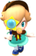 Baby Rosalina (Detective)'s in-game artwork from Mario Kart Tour