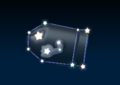Bullet Bill's constellation in the game Mario Party 9.