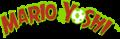 Mario & Yoshi in-game NES logo.png
